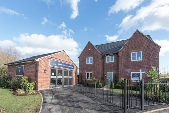 Houghton Fields, Houghton Conquest Sales Suite and Show Home